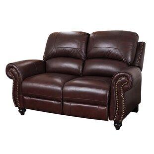 Kahle Leather Reclining Loveseat