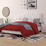 Stella Upholstered Standard Bed by Wayfair Custom Upholstery™