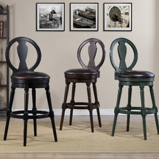Hasse 29 Swivel Bar Stool Alcott Hill