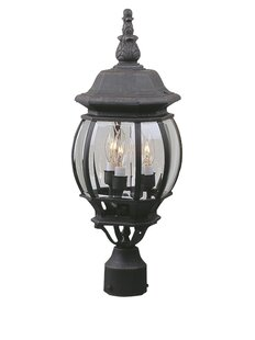 Compare & Buy Oakhill 3-Light Black Lantern Head By Charlton Home