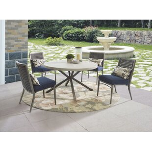 Check Prices Parsons Patio Dining Chair with Cushion (Set of 4) Reviews