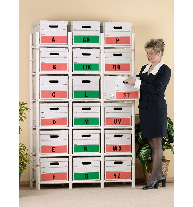 18 File Box Storage System 68  sc 1 st  Wayfair & Bin Warehouse 18 File Box Storage System 68 u0026 Reviews   Wayfair