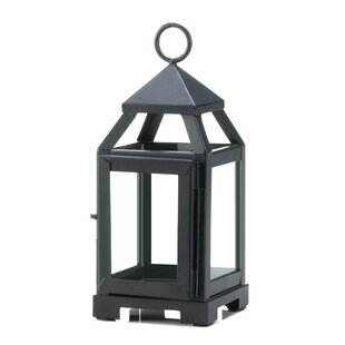 Check Prices Mini Contemporary Iron Lantern By Charlton Home