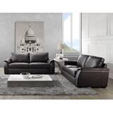 Voyles 2 Piece Leather Living Room Set by Brayden Studio