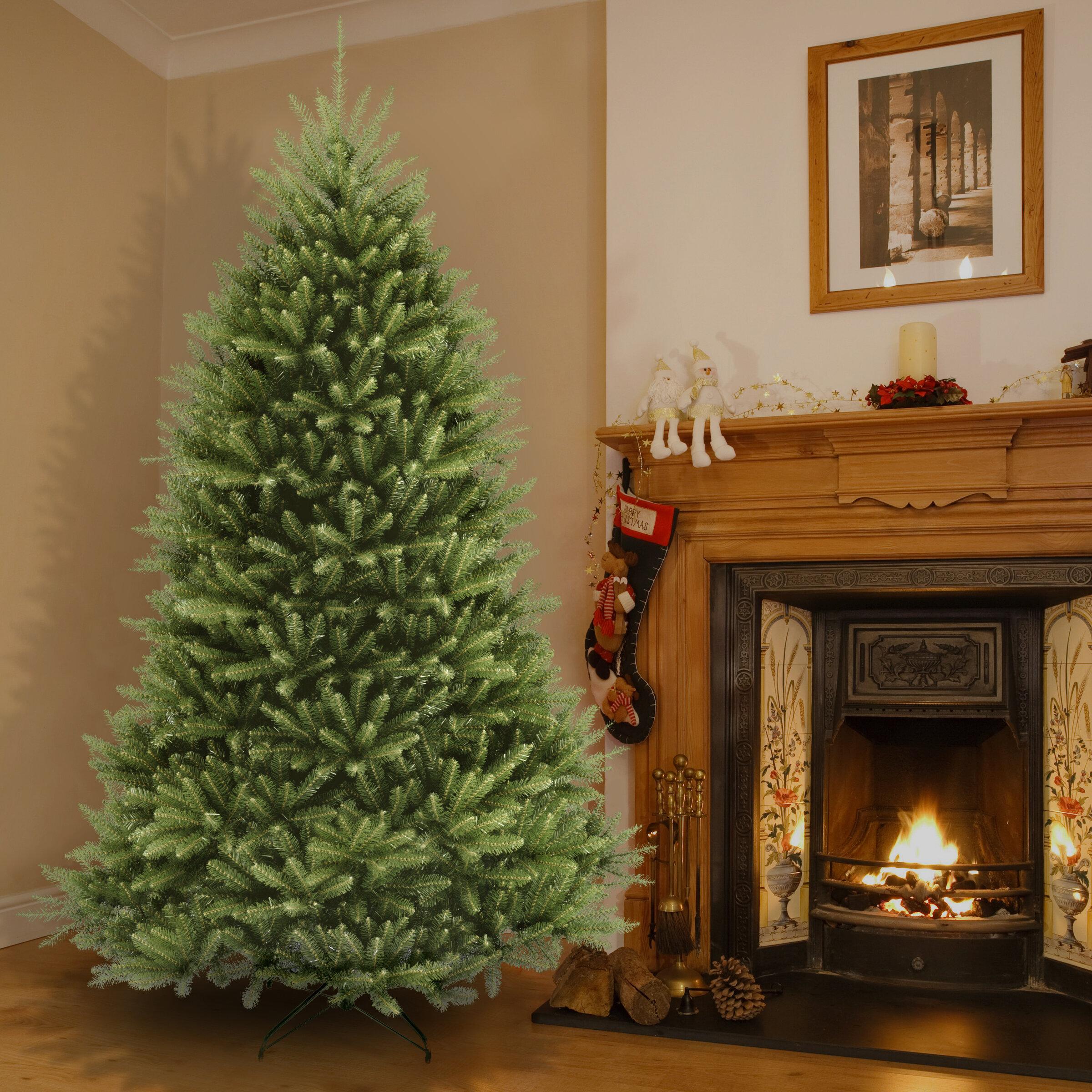 Dunhill Green Fir Artificial Christmas Tree Reviews Birch Lane