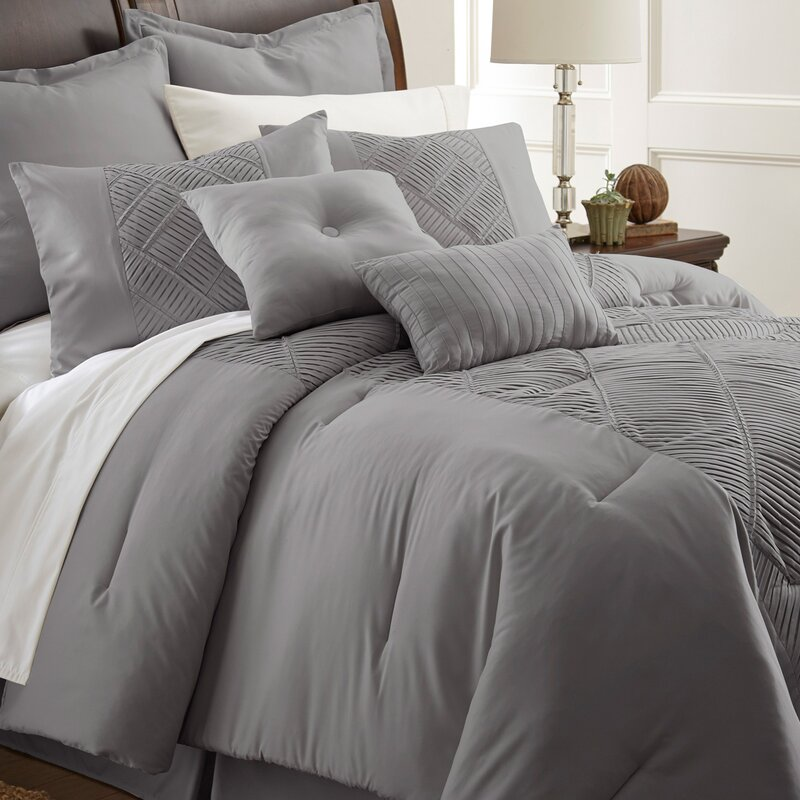 lucretia 8 piece comforter set