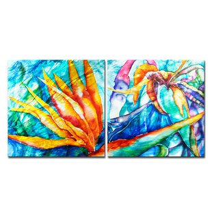 Bird Of Paradise Wall Art Wayfair