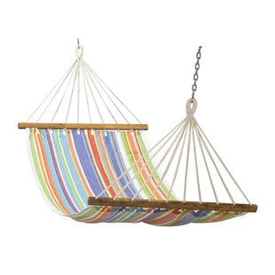 Cotton Camping Hammock by Home & More Cool