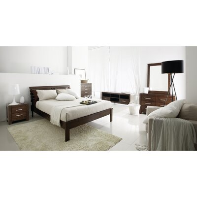 Brayden Studio Sagittarius Queen Platform 5 Piece Bedroom Set