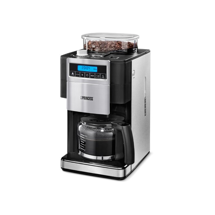 Princess Coffee Maker With Bean Grinder