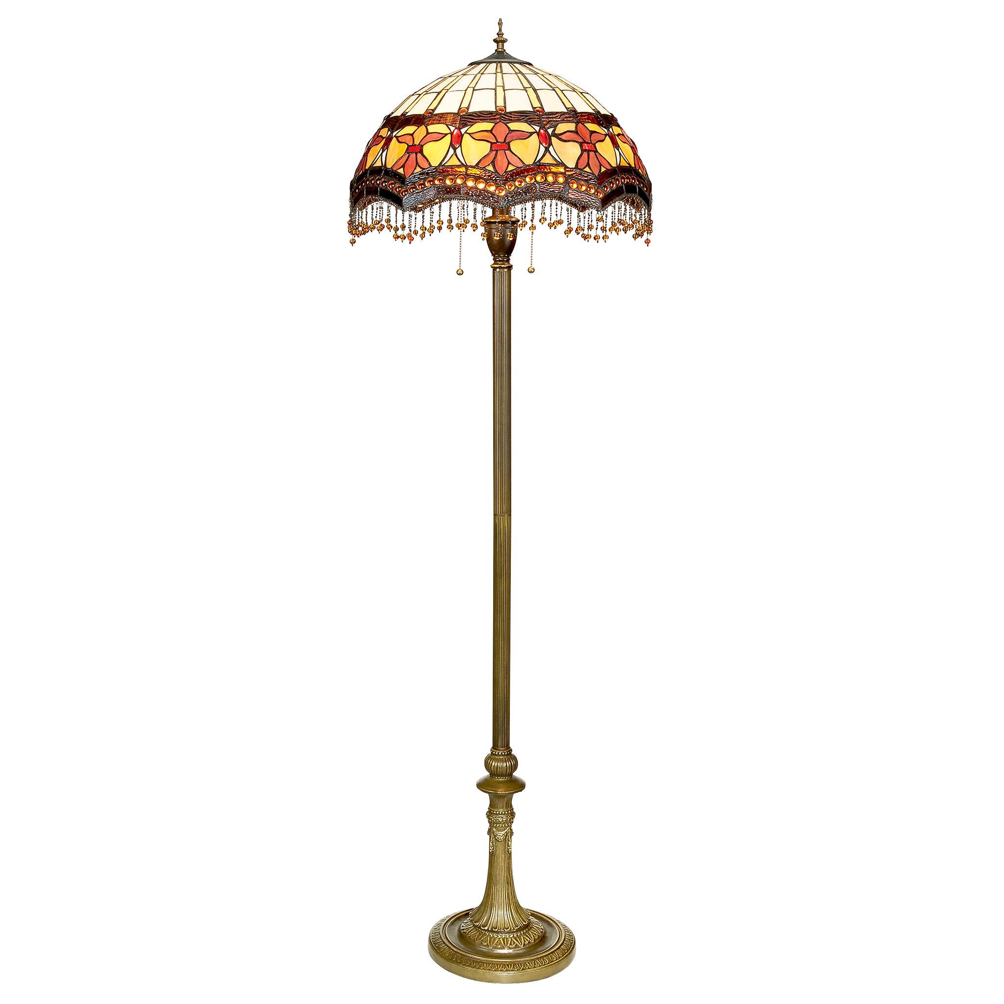 Victorian Parlor Tiffany 63 Floor Lamp