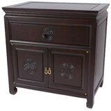 Hightower 1 Drawer Nightstand by World Menagerie