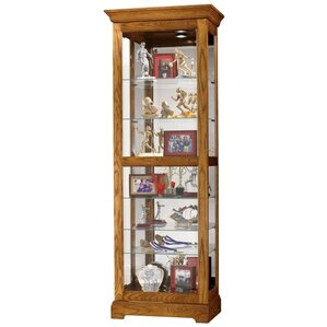 Moorland Lighted Curio Cabinet by Howard Miller?