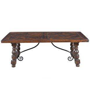 Cullens Solid Wood Dining Table Fleur De Lis Living