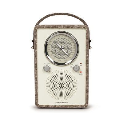 Mockingbird Radio Crosley Electronics Color: Havana