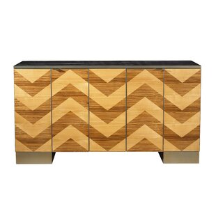 Kepler Fitzgerald Credenza by Everly Quinn
