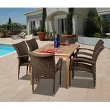Elsmere 7 Piece Teak Dining Set