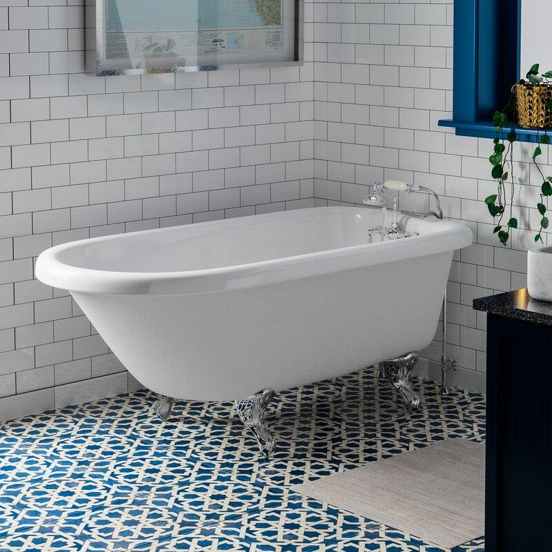 Barclay Andover 60 X 30 Soaking Acrylic Bathtub Wayfair