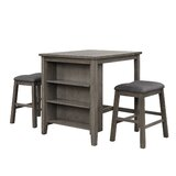 Sellman 3 - Piece Counter Height Dining Set by Gracie Oaks