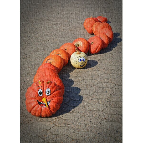 East Urban Home Pumpkin Cotton Red Area Rug Wayfair