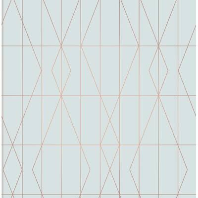 Nuwallpaper Arrowhead 55m L X 52cm W Geometric Roll Wallpaper