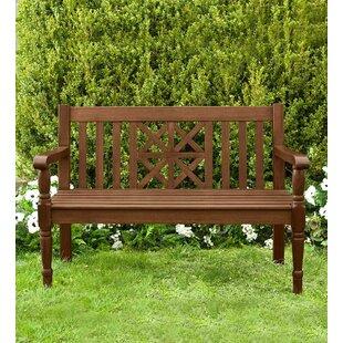 Legacy Diamond Wooden Garden Bench by Plow & Hearth
