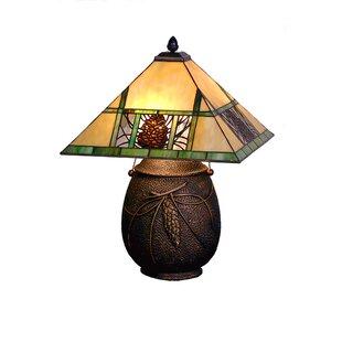 Inexpensive Lodge Pinecone Ridge 19.5 Table Lamp By Meyda Tiffany