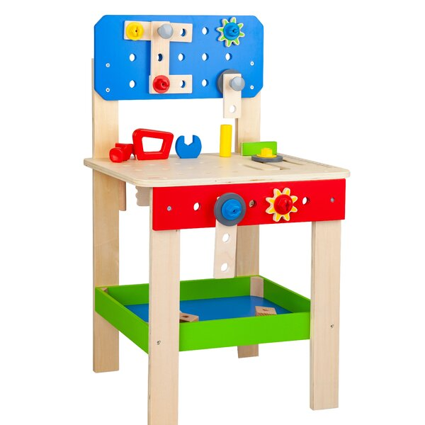 Stupendous Kids Work Bench Wayfair Frankydiablos Diy Chair Ideas Frankydiabloscom