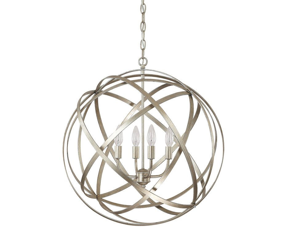 Kierra 4-Light Globe Pendant