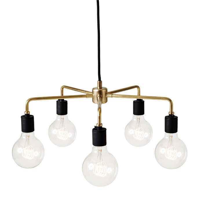 Tribeca Leonard 5 Light Candle Style Chandelier