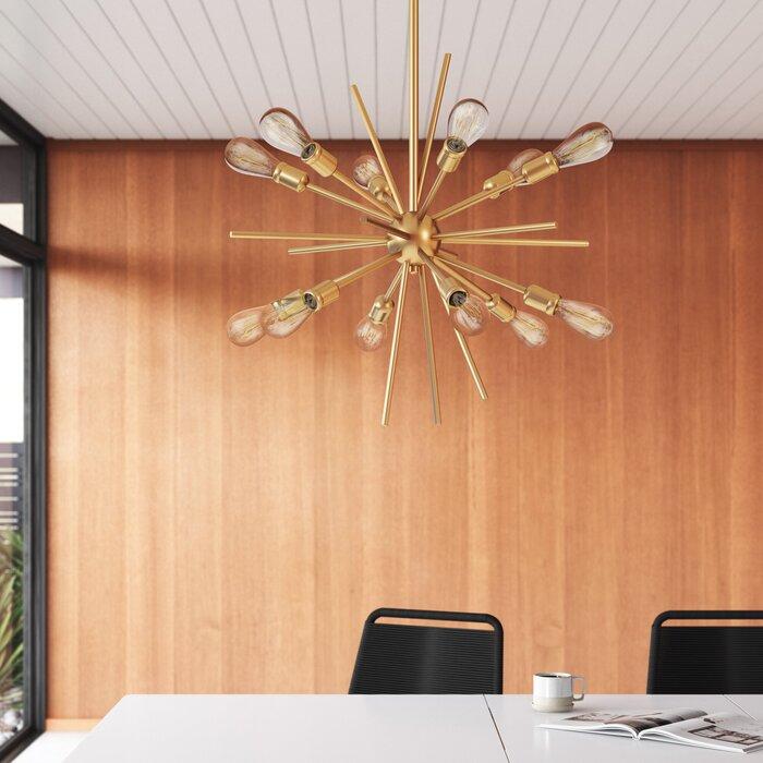 Albany 12-Light Sputnik Sphere Chandelier