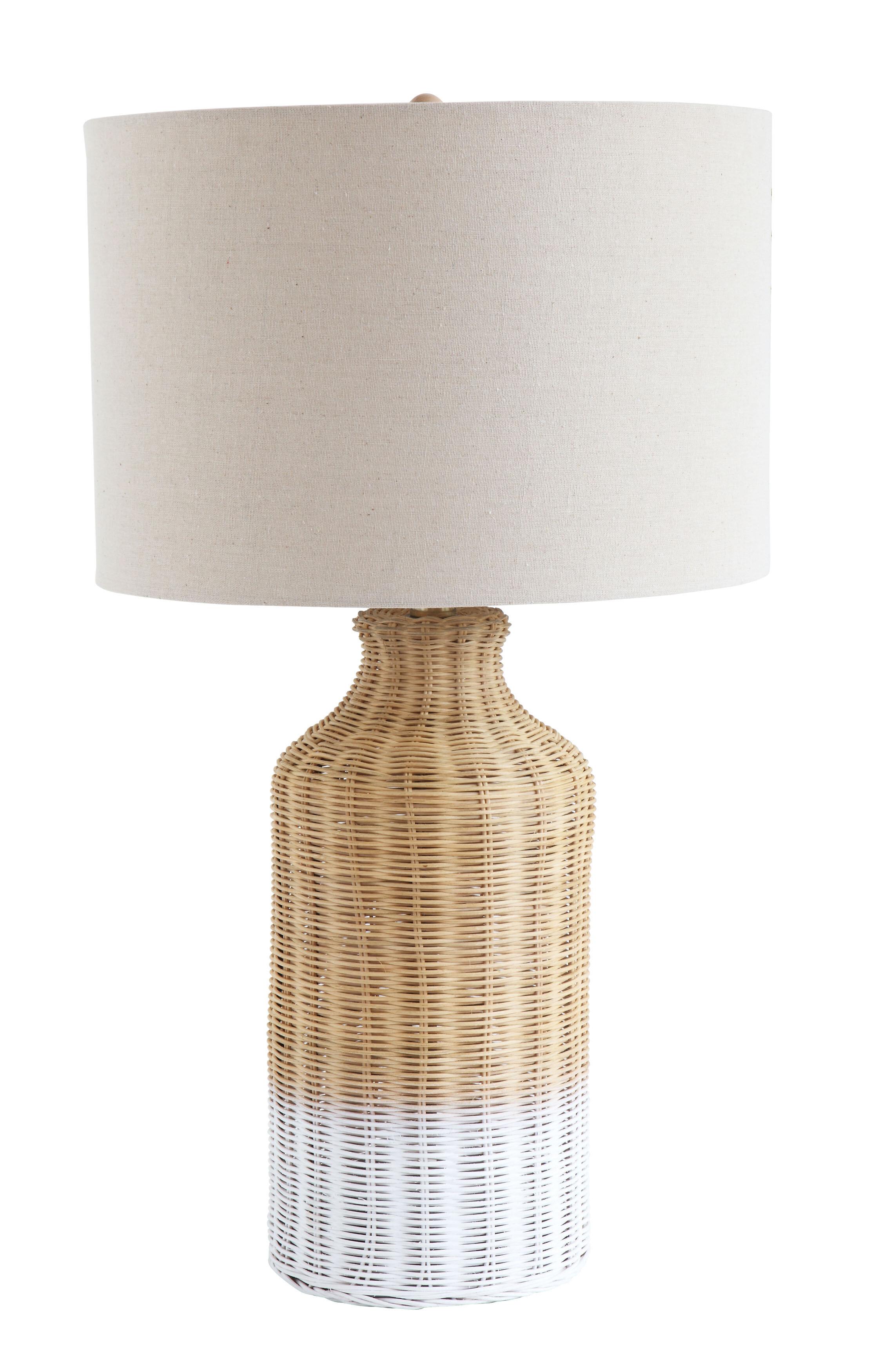 Choy Wicker 27 Table Lamp Joss Main