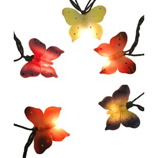 Read Reviews Butterfly Novelty Christmas String Light (Set of 10) By The Holiday Aisle