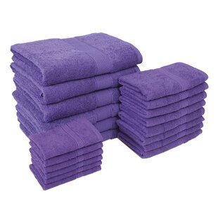 Jumbo 20 Piece 100% Cotton Towel Set