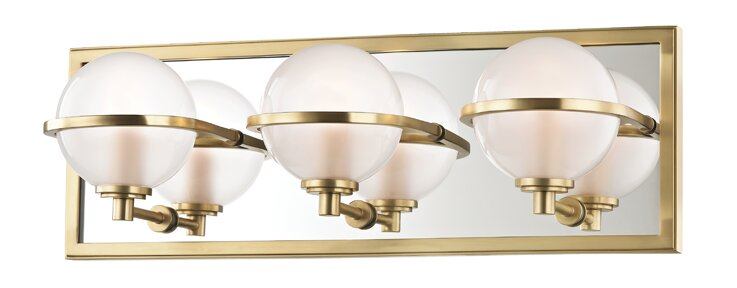 Mercer41 Rawls 3 Light Vanity Light Wayfair