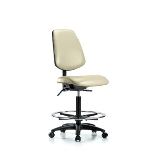 Jalynn High Bench Foot Ring Ergonomic Office Chair ...
