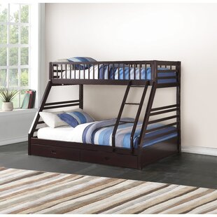 Wacker Bunk Bed with 2 Drawers by Harriet Bee