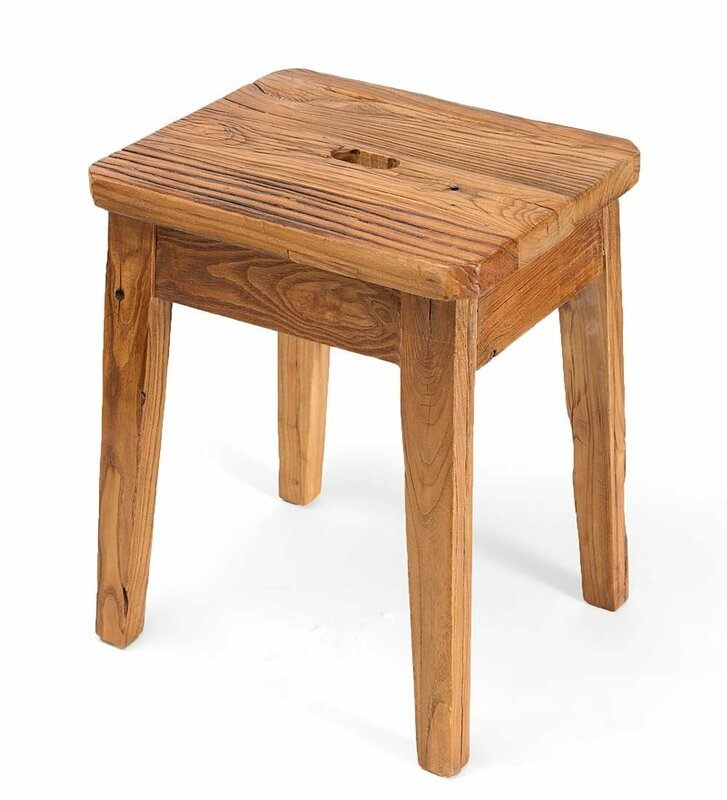 Elmwood Accent Stool