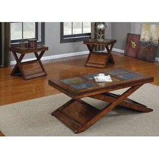 Cavitt 3 Piece Coffee Table Set