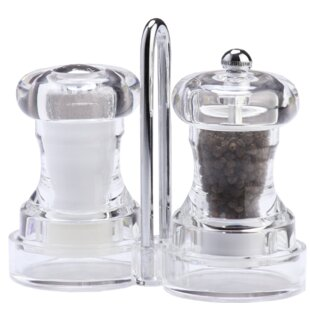 Capstan Acrylic Salt and Pepper Set