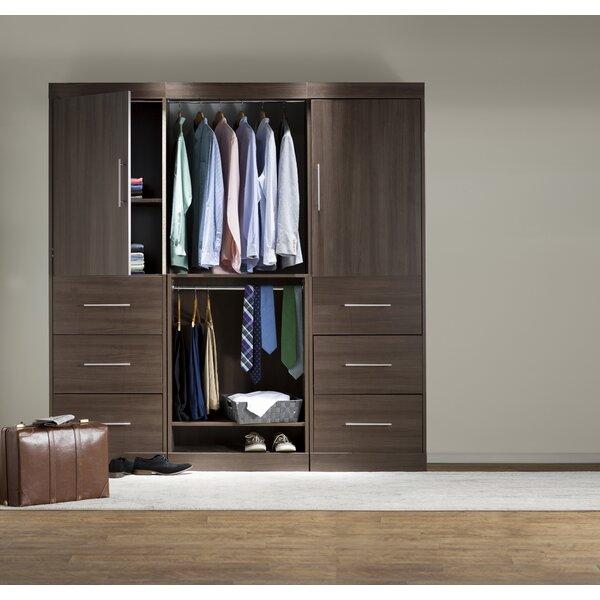 Freestanding Closet With Doors Wayfair