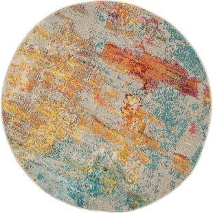 Shugart Sealife Blue Area Rug by Wrought Studio