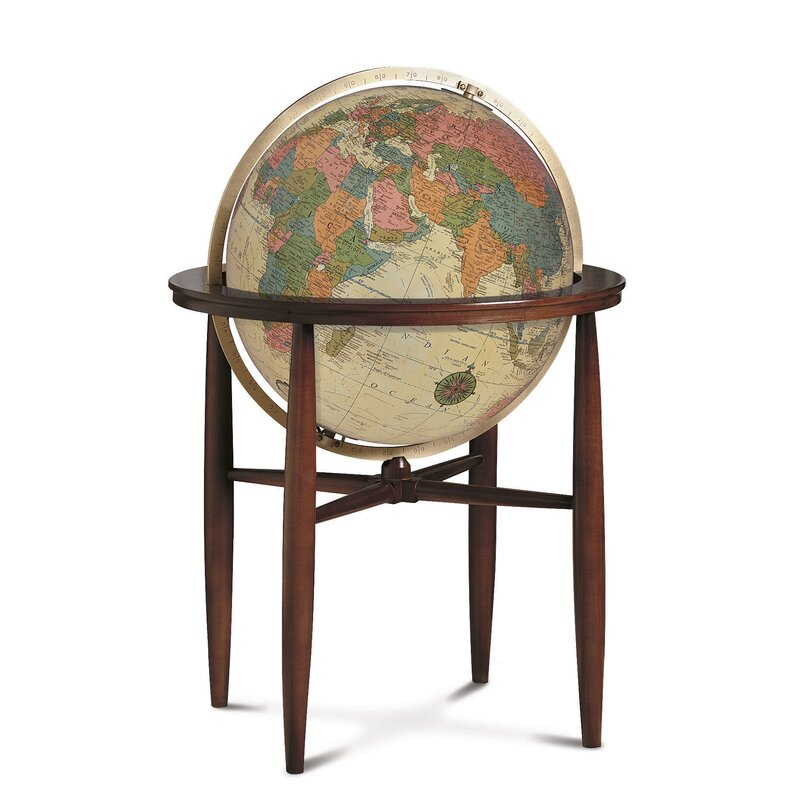 Austin Antique Illuminated World Globe - Replogle Austin Antique Illuminated World Globe Wayfair