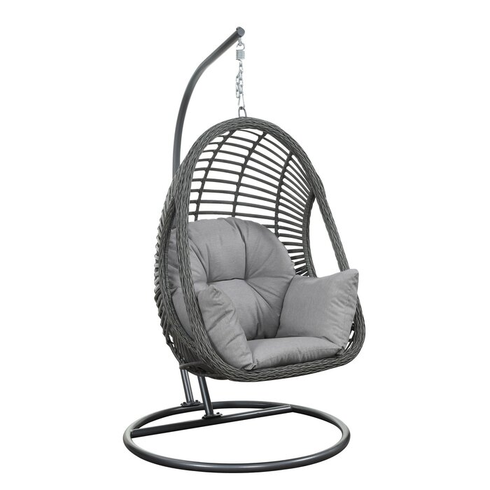 Stupendous Moquin Hammock Chair With Stand Short Links Chair Design For Home Short Linksinfo