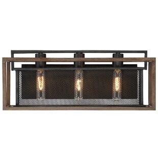 Savings Minor 3-Light Vanity Light By Union Rustic
