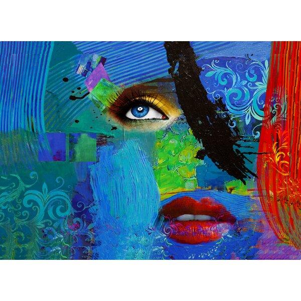 abstract face art wayfair