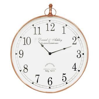 East Urban Home Fractal Flower Wall Clock Wayfair Ca