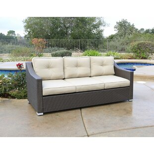 Leib Patio Sofa with Cushions