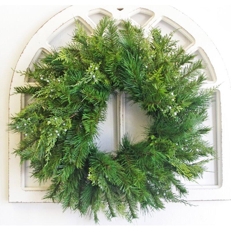Sage English Ivy /& Berry Everyday Wreath Lively Greenery Eucalyptus