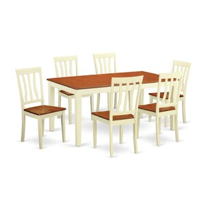 Napoli 7 Piece Dining Set Wooden Importers